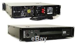 Emb Pro Eb6500pro 6500w Ampli De Puissance Dj 2 Canaux, Ampli De Montage En Rack 2u Stéréo