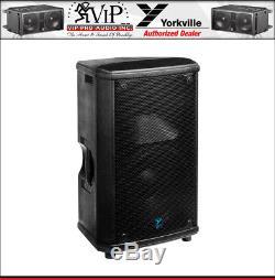 Enceinte De Sono Amplifiée Amplifiée Yorkville Nx55p-2 Pro Active 12 12w 2000w - Pair