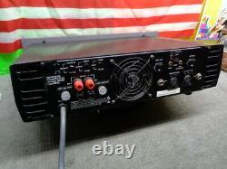 Estate24hr Vente Rack Munt Vintage Hafler Pro 6000 Amplfier Voir Tube Vidéo