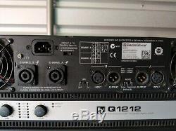 Ev Electro-voice Q1212 1200w @ 4 Ohms X2 Amplificateur De Puissance Professionnel