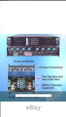 Fp20000q Amplificateur De Puissance Audio Pro En Mode Commutateur À 4 Canaux De La Classe Td, Nouvelle Révision