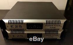Funktion One Mc2 E25 Amplificateur De Puissance Audio Professionnel
