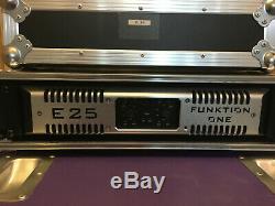 Funktion One (audio Mc2) Amplificateur De Puissance Audio Professionnel E25 (ffa, Lab)