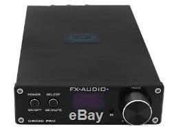 Fx Audio D802c Pro Amplificateur Numérique Support Nfc Aptx Amplificateur Numérique Noir