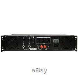 Gemini Pro Gpa-3500 3000w Amplificateur De Puissance 2 Canaux Dj 2u Sur Bâti De Rack, Stéréo