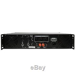 Gemini Pro Gpa-4800 4000w Ampli De Puissance 2 Canaux Dj Ampli. 2u Rack