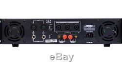 Gemini Xga-3000 Watts Amplificateur De Puissance Professionnel 2 Canaux Stéréo Dj Amp Bridgeable