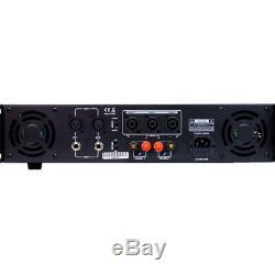 Gemini Xga-5000 Watts Amplificateur De Puissance Professionnel Dj 2 Canaux Pontable
