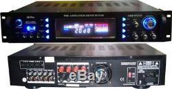 Gli Pro 2000 Watt Rcx5000usb Hybrid Professional Karaoke Récepteur / Amplificateur