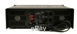 Gli Pro Pvx9000 10 000 Watt Amplificateur De Puissance Dj Amp Rack + Xlr Câble