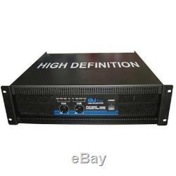 Gli Pro Pvx9000 19 Montable En Rack 10 000 Watts 2 Canaux Max Pro Amplificateur