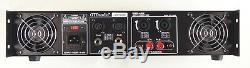 Gtd Audio 2 Canaux 2500 Watts Amplificateur De Puissance Professionnel Ampli Stéréo J2500