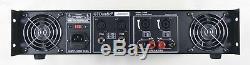 Gtd Audio 2 Canaux Amplificateur De Puissance Professionnel 4500 Watts Stéréo J4500