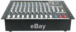 Gtd-audio 10 Canaux 4000watt Professionnel Amplificateur Mélangeur 1000 Powered Watt Rms