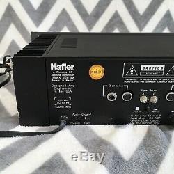 Hafler Pro2400 Amplificateur De Puissance Stéréo Rack Montable Amp Audio Audiophile Testée