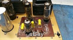 Heathkit Aa30 Aa30 Vide Tube Amplificateur De Puissance (pro Serviced, Rechapé) Rare