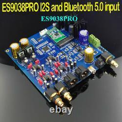 Hifi Es9038pro Dac I2s Et Csr8675 Input Diy Player Red Core Raspberry Pi CD