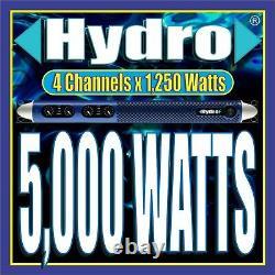 Hydro 4/ch 5 000w 1u Amplificateur Professionnel Powersoft Start Line Array Monitors