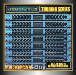 Jeus Zeus D-1504 Salut Densité 4 Ch 14 000 Watt 1u Amplificateur De Puissance Professionnel