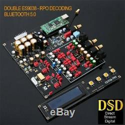Jrc5532dd Jrc5534dd Dual Core Es9038pro Décodeur Équilibré Dac Fibre Optique Gratuit