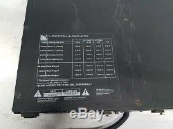 L-acoustics La 24a Amp Pro Audio 2 Canaux Amplificateur De Puissance Pour L'installation Ou En Direct