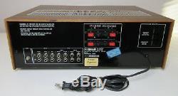 L'amplificateur Yamaha Ca-610ii Fonctionne Excellent État Des Del