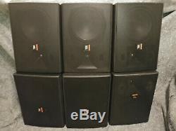 Lot Système Complet Pa (3x) Qsc Cx254 Amplificateur Pro Et (6x) Haut-parleur Jbl