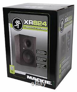 Mackie Xr824 8 Enceintes Enceintes De Monitoring Actives Studio Pro Avec Amplificateur De Classe D