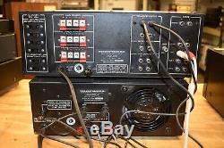 Marantz Power Amp Model 501m & Marartz Préampli Modèle 3600 Les Deux Pro Serviced
