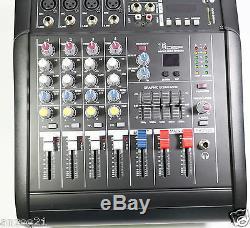Mélangeur D'amplificateur De Puissance De La Console De Mixage En Direct Karaoké Live De La Chaîne Pro 4 Channel 800w