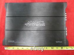 Mmats Pro Audio E1000.1d Amplificateur De Voiture Monobloc De Puissance 1000 Watts