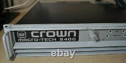 Modèle D'amplificateur De Puissance Professionnel Macro-tech Crown 2400