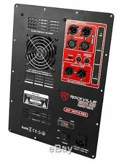 Module De Plaque Amplificateur Amplifié Audio Subwoofer De 600 Watts Rms Pro Panel Xlr In / Out