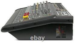 Musysic 6 Channel 2000 Watts Professional Power Mixer Amplificateur Avec Usb