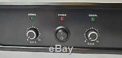 Musysic Professionnelle 2 Canaux 2x8000 Watts Pmpo De Classe D Amplificateur De Puissance Mu-d16k