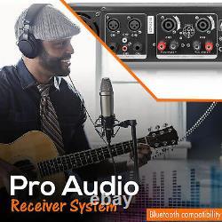 Nouveau Amplificateur De Puissance Technic Technical Pro 6500 Watt Professional 2 Ventilateur De Refroidissement