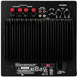 Nouveau Amplificateur Subwoofer. 250w. Haut-parleur Amp. Remplacement. Woofer Bass Power Plate. Cs