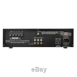 Nouveau Compact Pa Mixer Speaker Amp. Amplificateur Audio Pro. Équipement. Sortie 70v. S