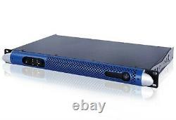 Nouveau! Hydro 2000w Rms 1u Professionnel Amplificateur Line Moniteurs Array