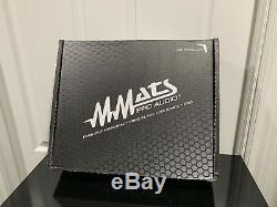 Nouvel Amplificateur Haute Puissance Numérique Mmats Pro Audio M3000.1 De 3000 Watts Fabriqué Aux États-unis