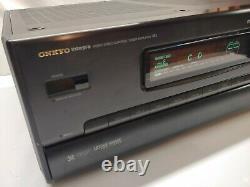 Onkyo Integra R1 Tx-sv909pro Audio Video Control Amplificateur Récepteur De Travail