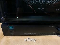 Onkyo M-5060r Hi-fi Amplificateur Stéréo 2 Canaux Home Cinéma Pro Audio