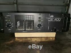 Peavey Cs-400 2 Canaux Stéréo Pro 400w Amplificateur De Puissance 3u Rackmount Amp 0416