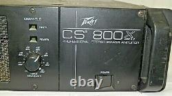 Peavey Cs-800x Pro Power Amplificateur / Rack Mount Amp Stereo 600w X 2 = 1200w