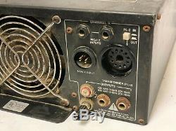 Peavey Cs800x 1200w Professional Amplificateur De Puissance Stéréo Amp Noir Made In USA