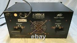 Peavey Maq 600 Dual Channel Pro Audio Amplificateur Feedback Control Eq Avec Pls