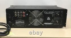 Peavey Professional Pv-1200 Amplificateur De 2 Canaux (600w X2) Testé