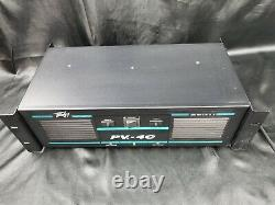 Peavey Pv-4c Puissance Stéréo Professionnel Amplificateur 250 Watts X 2 Made In USA