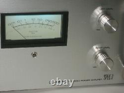 Pioneer Spec-2 Amplificateur D'alimentation Stéréo, Pro Entretenu, Mis À Jour, Rechapé, Leds