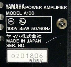 Pour Les Pièces Yamaha A100 2 Canaux Amplificateur De Puissance Professionnel